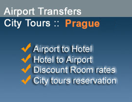 Book your stay in Prague online on this website and save time and money : shuttle, tours and hotels
